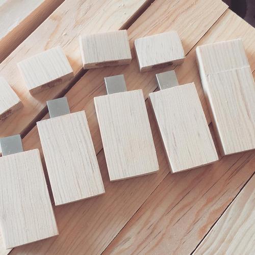 usb de madera 16gb personalizada promocional