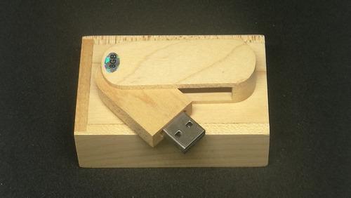 usb madera 8gb oferta x 10 uni c/u 30.00
