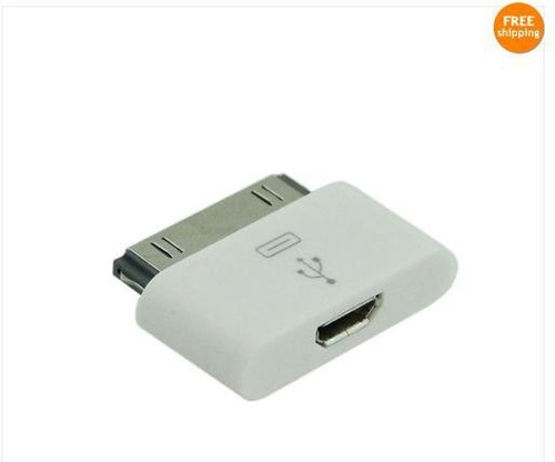 usb micro adaptador para ipod iphone ipad 4 4s 4g