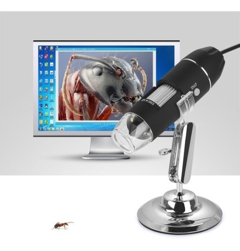 usb mini 1000 x 8 led digital microscopio endoscopio lupa cá