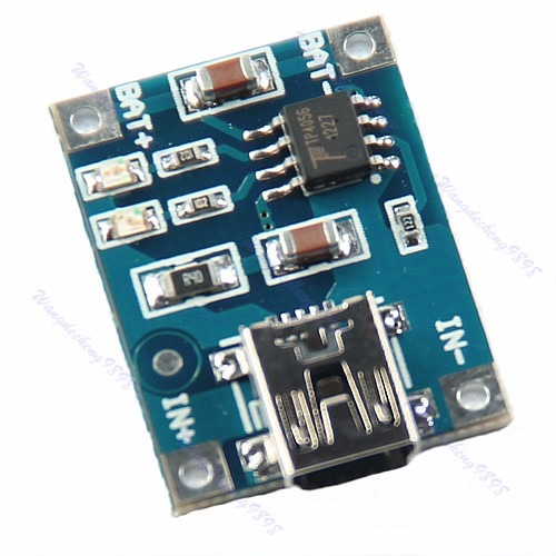 usb mini  tp4056 módulo de carga de batería