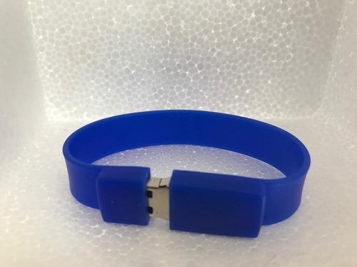 usb pulsera silicon 8gb paquete 10 piezas