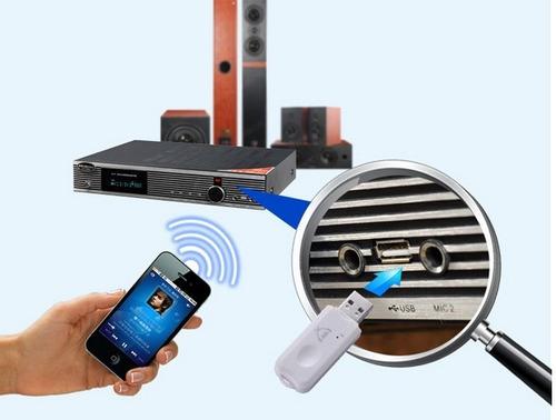 usb receptor bluetooth para autos autoradio equipo de sonido