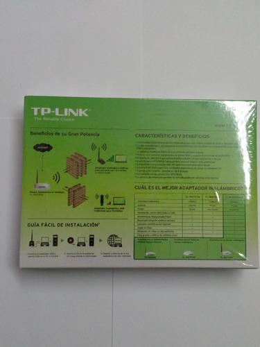 usb tp-link rompemuros tl-wn7200nd. nuevo en empaque sellado