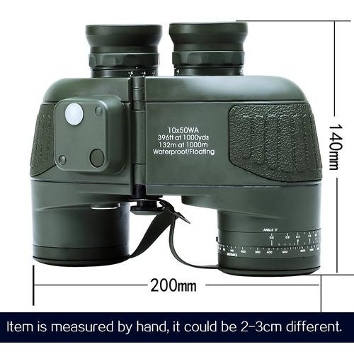 uscamel 10x50 prismáticos militares impermeables de alta
