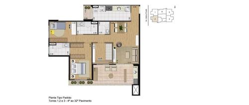 use seu fgts - apartamento 77 e 95 metros, 2 vaga e suíte