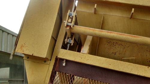 usina de concreto togo móvel montada na carreta prancha gran
