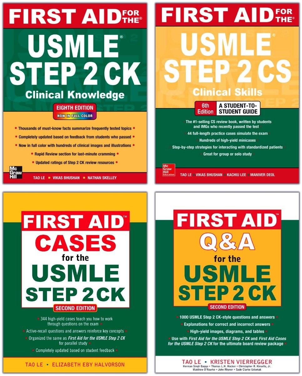 Usmle First Aid Kit Step 2 Livros Casos Questões