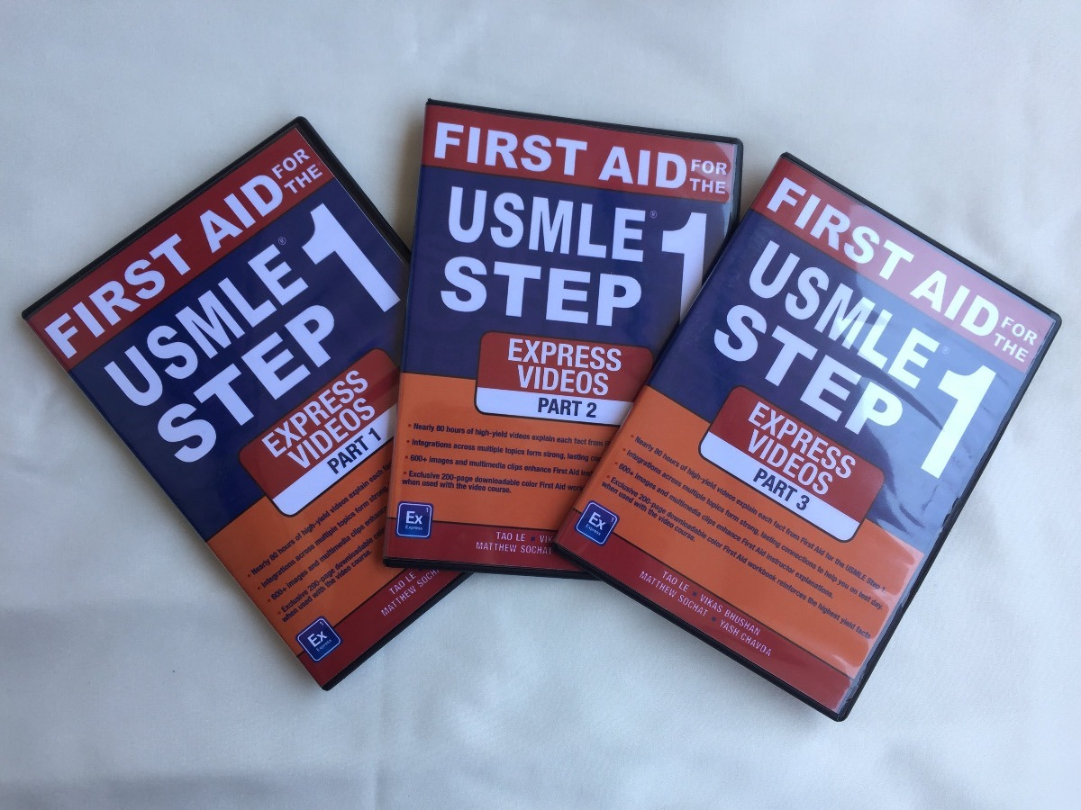 Usmle Step 1 First Aid Book