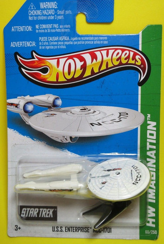 uss enterprise ncc-1701 batalha star trek hot wheels 2013