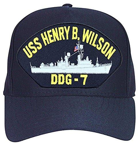 Uss Henry B Gorra De Beisbol Wilson Ddg7 Azul Marino Fabrica -   164.900 en  Mercado Libre 72fbf900308