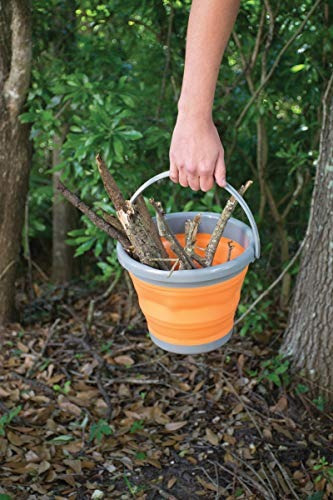 ust flexware collapsible bucket with strong flexible compact