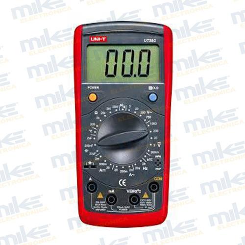 ut-39c multimetro 1000vdc 750vac, 20a (ac/dc) 20mohms *