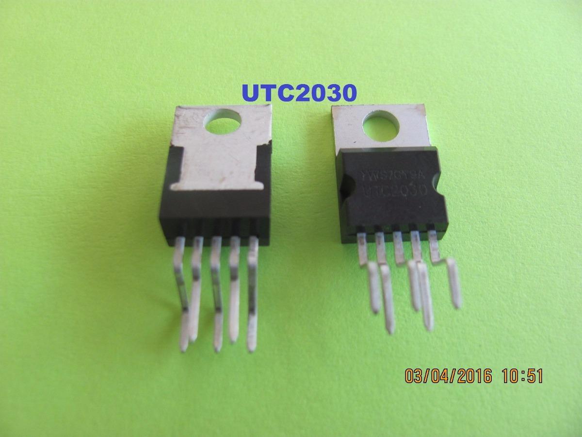 Circuito Integrado : Utc circuito integrado amplificador de audio u s en