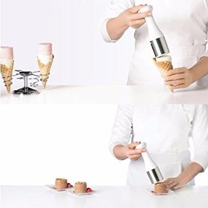 utensilio para servir nieve helado conos cuisipro dgv