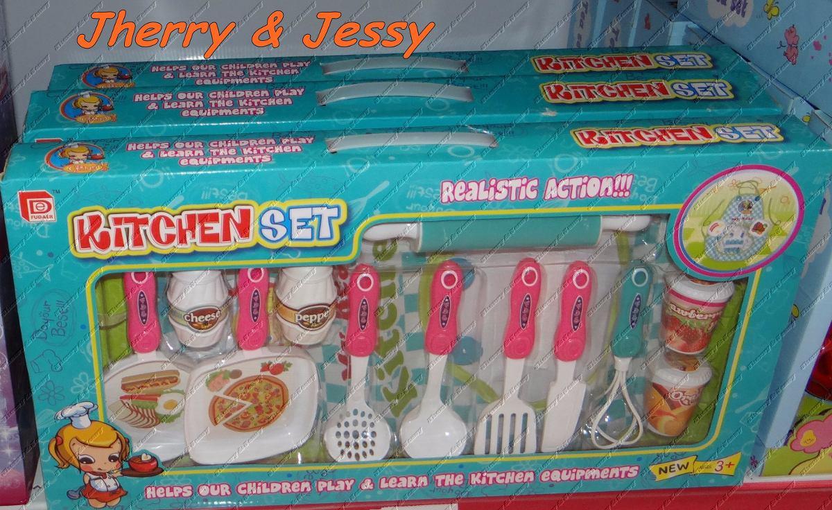 Utens Lios Da Cozinha Gourmet De Brinquedo R 269 98 Em Mercado Livre