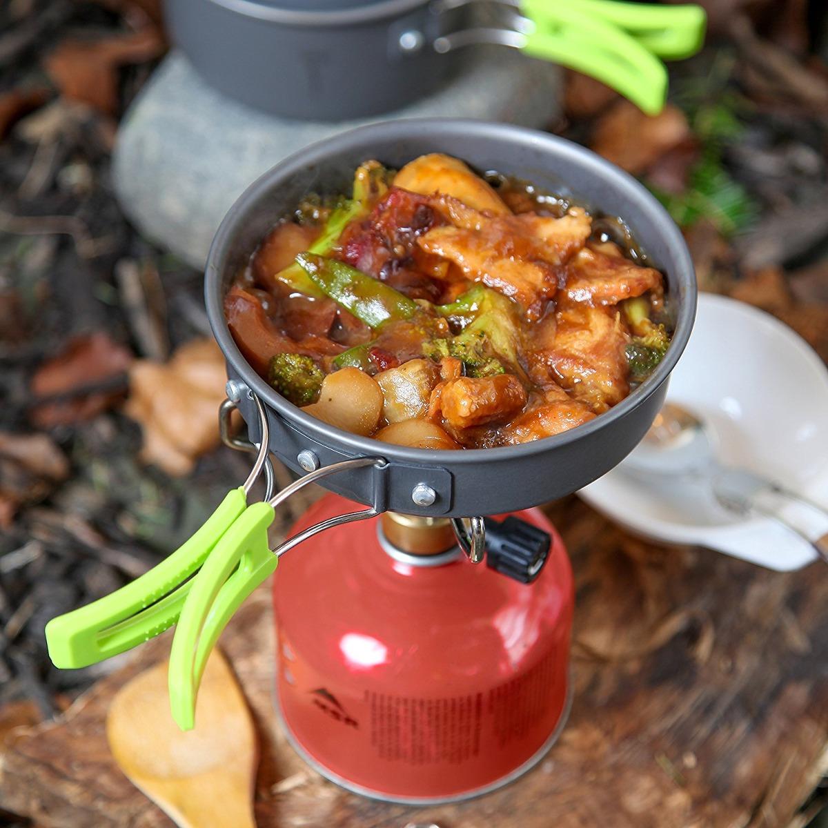 c69560b9d30 Utensilios De Cocina De Camping Kit Lío Con Mochila Engranaj ...