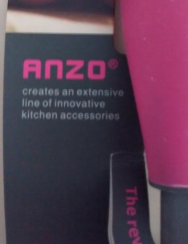 utensilios de cocina importados antirayones - anzo - oferta