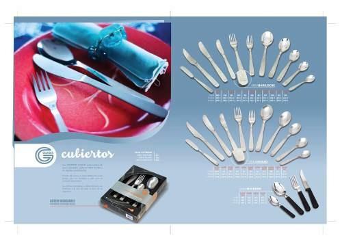 utensillos cuchillos 6 parrillero acero guadix iguazu 770