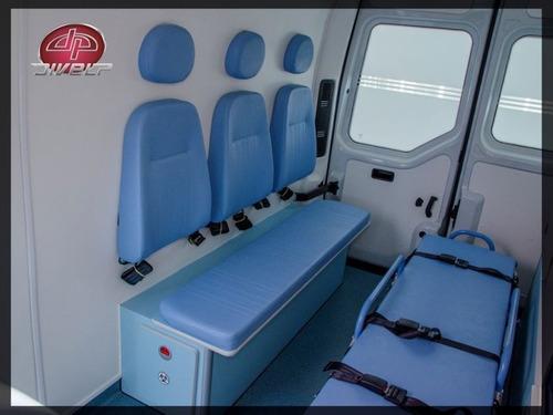 uti móvel 0km master 2.3 ambulância l2h2