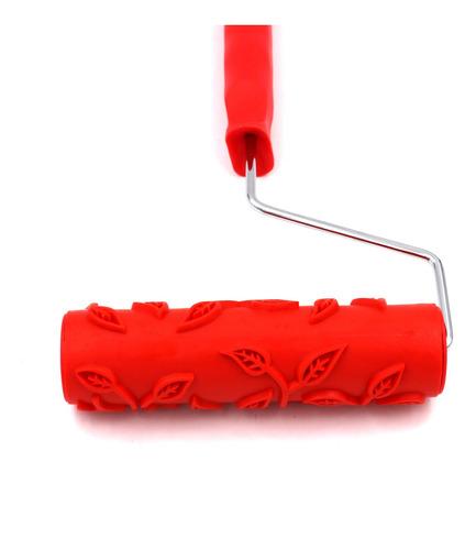 útil 7 polegada embossing pincel pintura rolo pintura com a