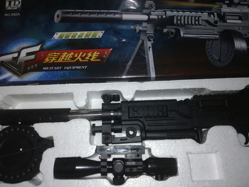 utileria disfraz cosplay arm laser airsoft gun model bbs 6mm
