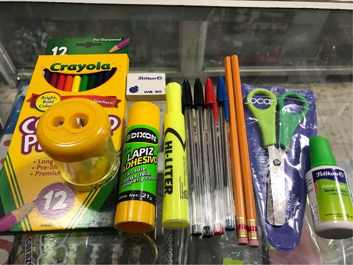 Utiles Escolares, Paquete De Utiles Escolares - $ 349.00 en Mercado ...