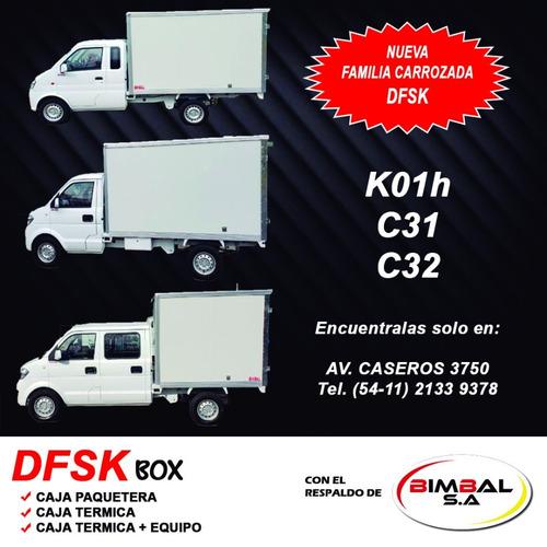 utilitario dfsk c32 box pick-up cd