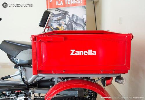 utilitario zanella tricargo 100 0km rebatible urquiza motos