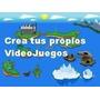 Kit Para Que Aprendas A Crear Videojuegos. Manual + Software