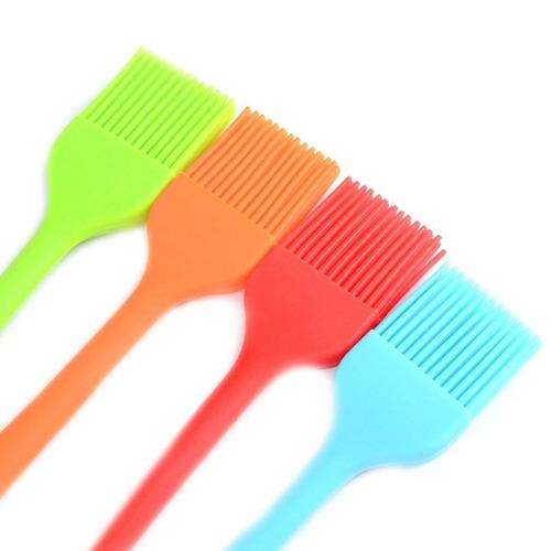 utoper juego de cepillos de silicona pinceles + envio gratis
