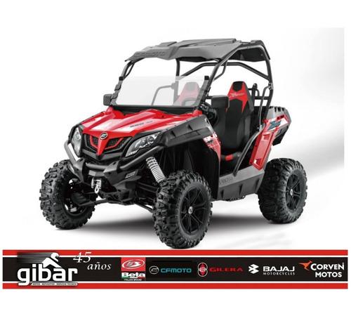 utv 550 0km gamma cfmoto np 4x4 dolar oficial - gibar motos