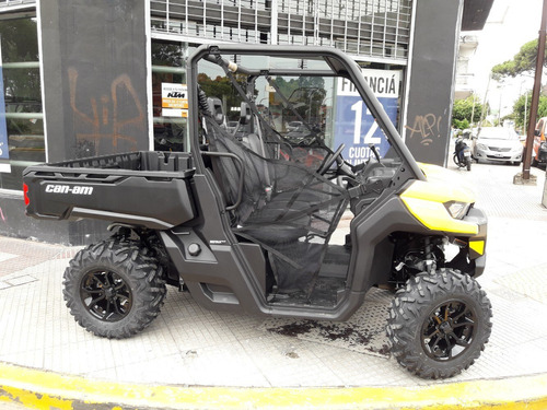 utv can am defender hd-8 2016 pat 17 con 1700km impecable!