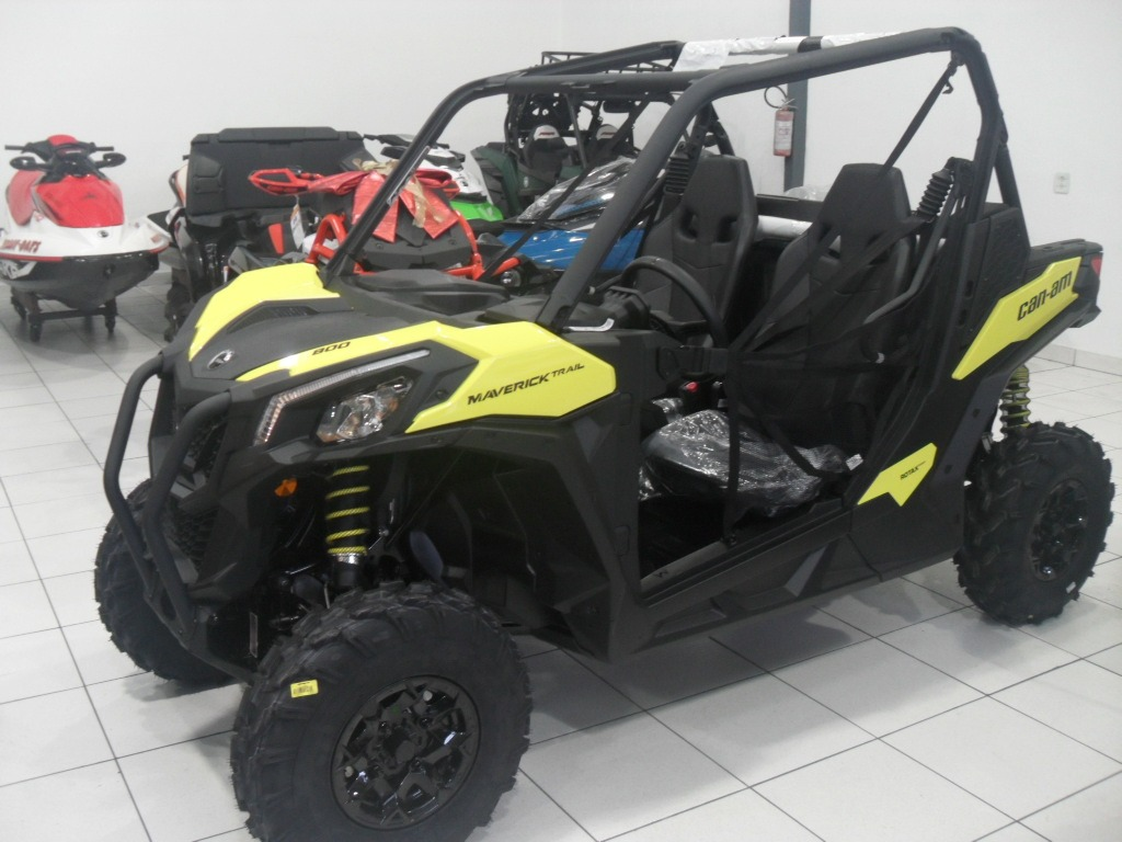 Utv Can-am Maverick Trail 800cc 2018 Ok - R$ 52.990 em ...
