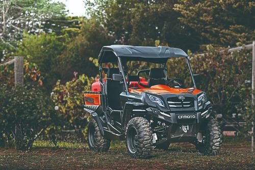 utv uforce 550 eps 4x4 automático - caçamba basculante