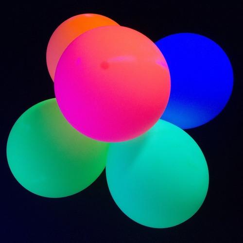 uv blacklight reactiva fluorescente /globos de fiesta de !