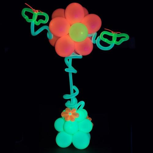 uv blacklight reactiva fluorescente neón fiesta globos ...