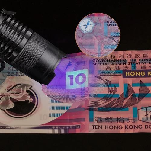 uv lanterna 3-mode levou tocha ultra violeta luz uv roxo