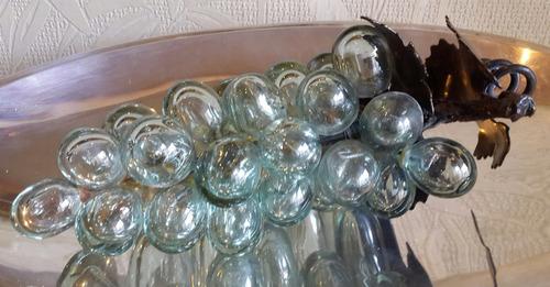 uvas cristal soplado hierro arte humberto belloto italy