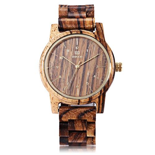uwood uw - 1007 reloj de pulsera cuarzo para hombres