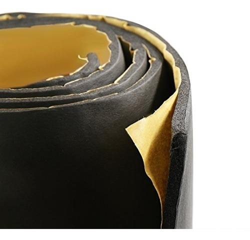"""197mil 5mm 21.53 pies cuadrados Coche Piso Del Portón Trasero Amortiguador de aislamiento de sonido Mat 79/"""" X 40/"""""""