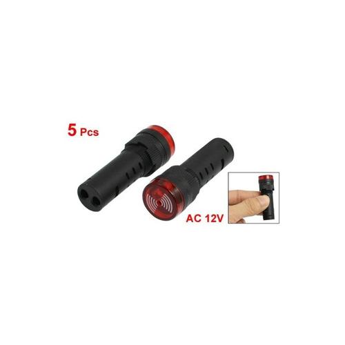 uxcell indicador de señal de falla de 5 piezas led rojo parp