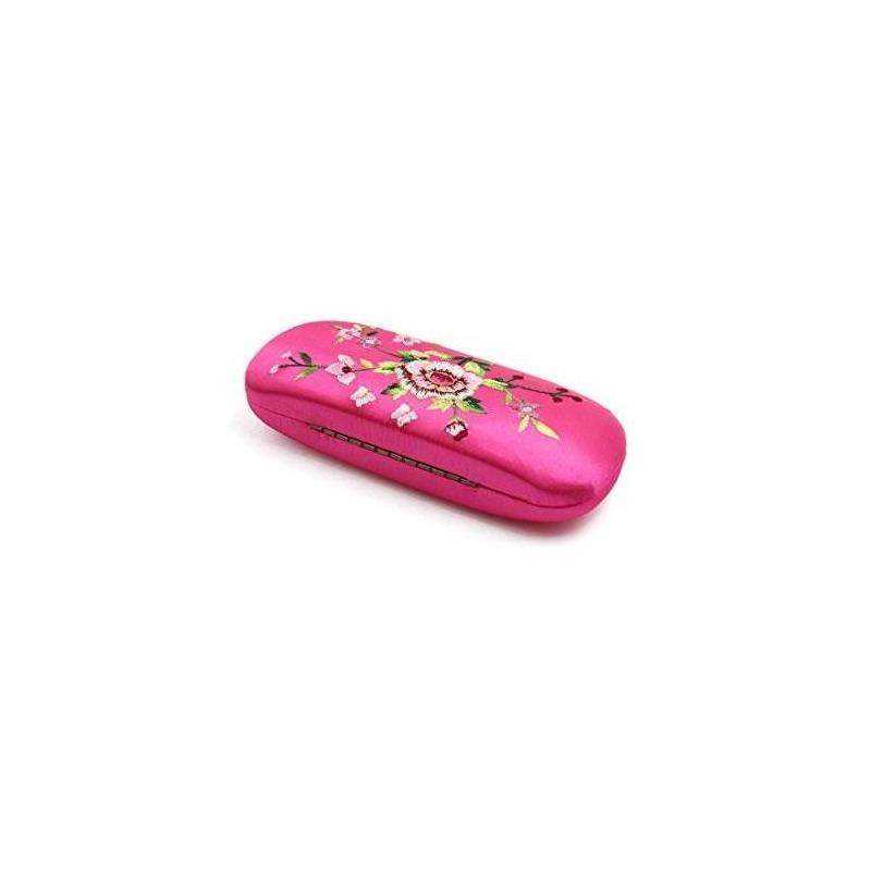 Uxcell Patrón De Flores Bordadas De Color Rosa Anteojos Gafa ...