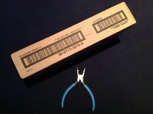uy2 3m 1000 conectores uy con pinzas uy selladas d fábrica