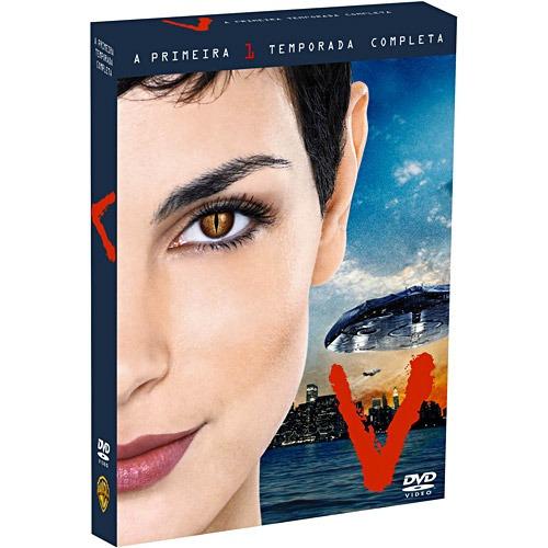 v - 1ª temporada completa [4 dvds] original - lacrado
