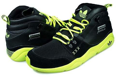 v adidas-usa originals* fortitude mid talla 8us & 26cm black