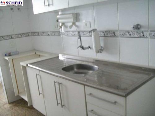 v. alexandria, bonito, 65m², armários, 2 dorm., sala 2 amb. com sacada, coz, wc, 1 vaga - mc3861