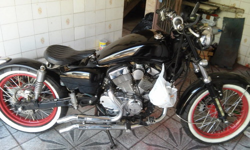v-blade 250 cc  ano 2008 preta