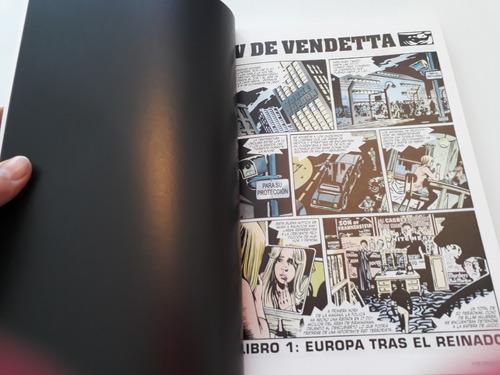 v de vendetta alan moore libro tapa blanda comic español
