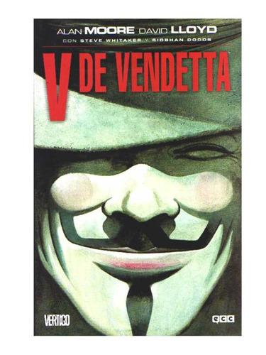 v de vendetta - alan moore - novela grafica comic en español